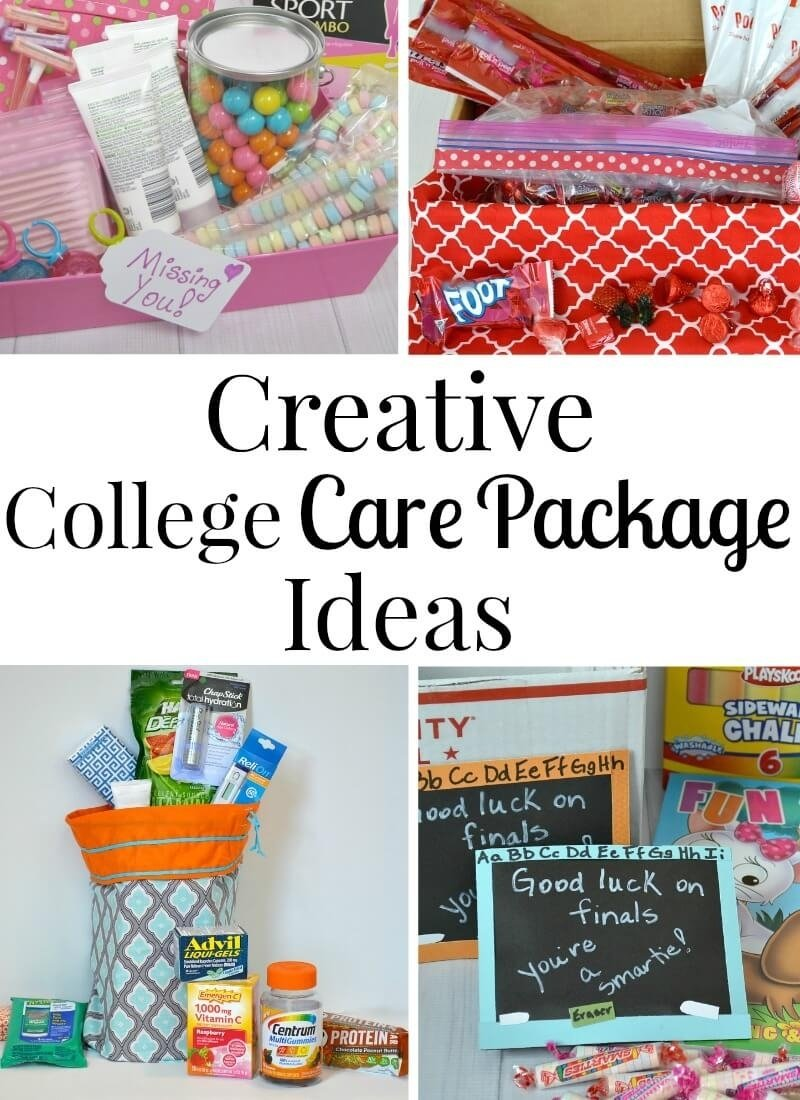 10 Fabulous Ideas For College Care Packages college care package ideas v