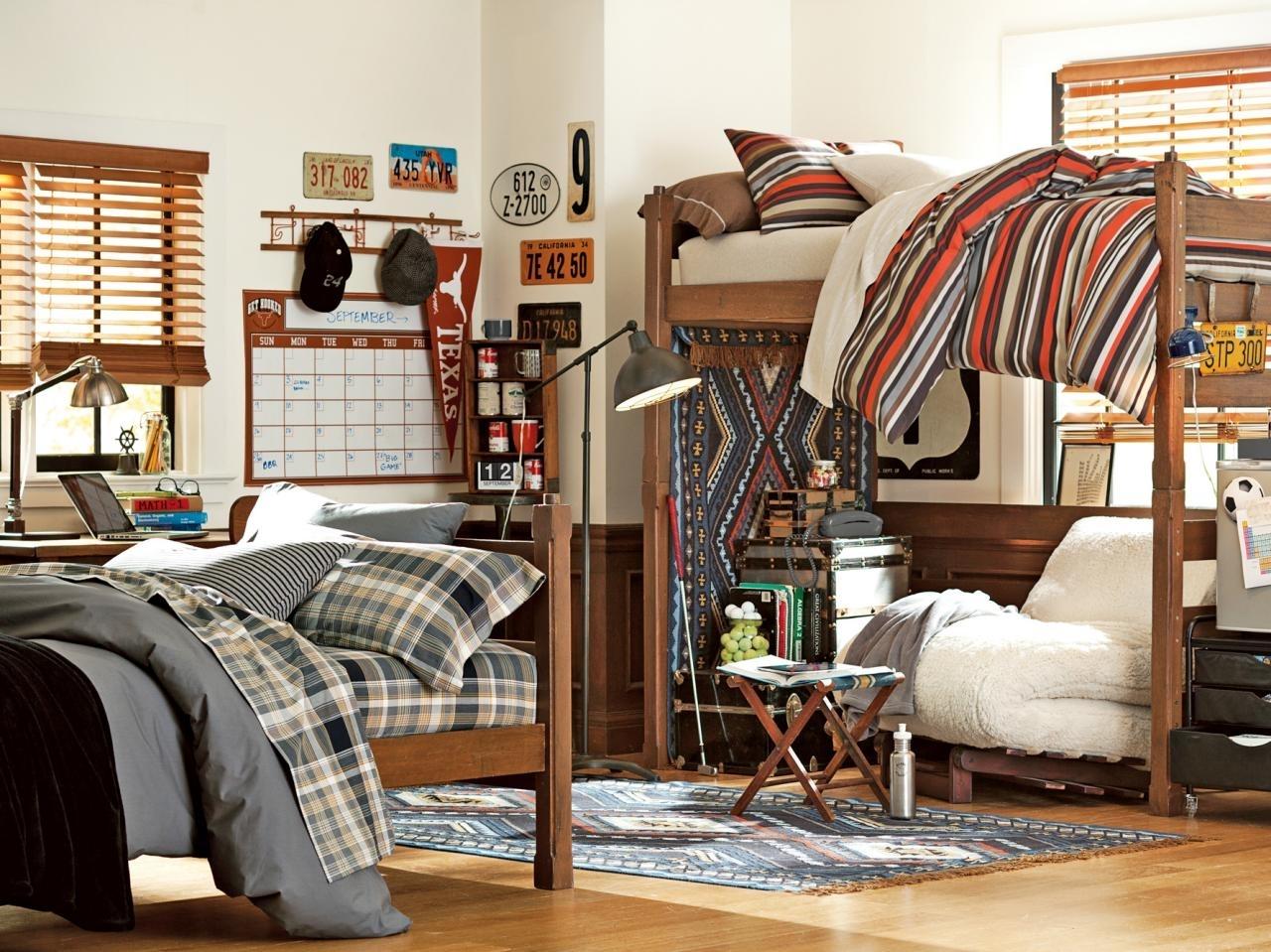 10 Gorgeous Dorm Room Ideas For Guys %name 2020