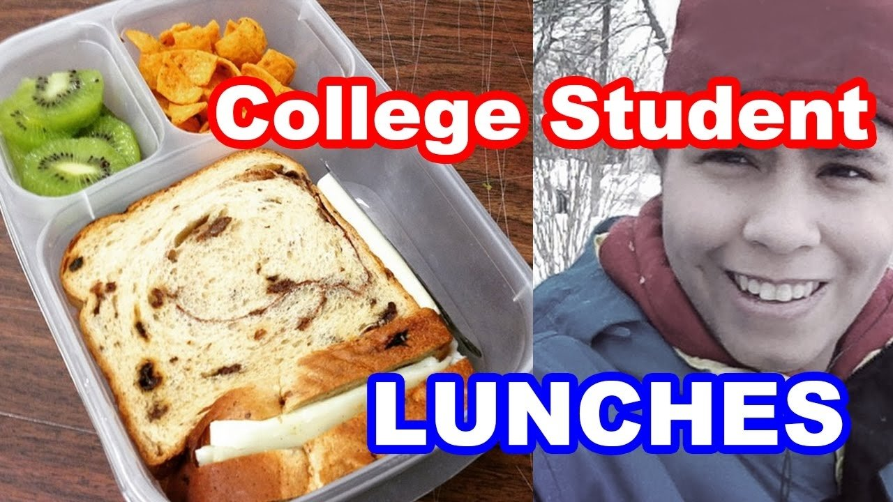 10 Lovable Meal Ideas For College Students college student lunches packed in easylunchboxes youtube 2020