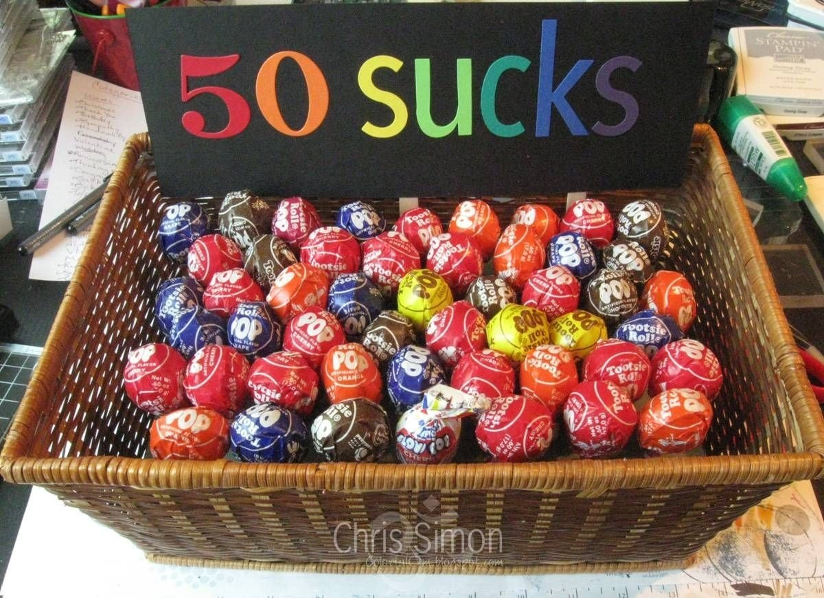 10 Attractive 50Th Birthday Ideas For Husband Colorful Om Party Gift Gag Gifts