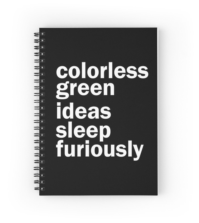 10 Gorgeous Colorless Green Ideas Sleep Furiously colorless green ideas sleep furiously black linguistics spiral 2021