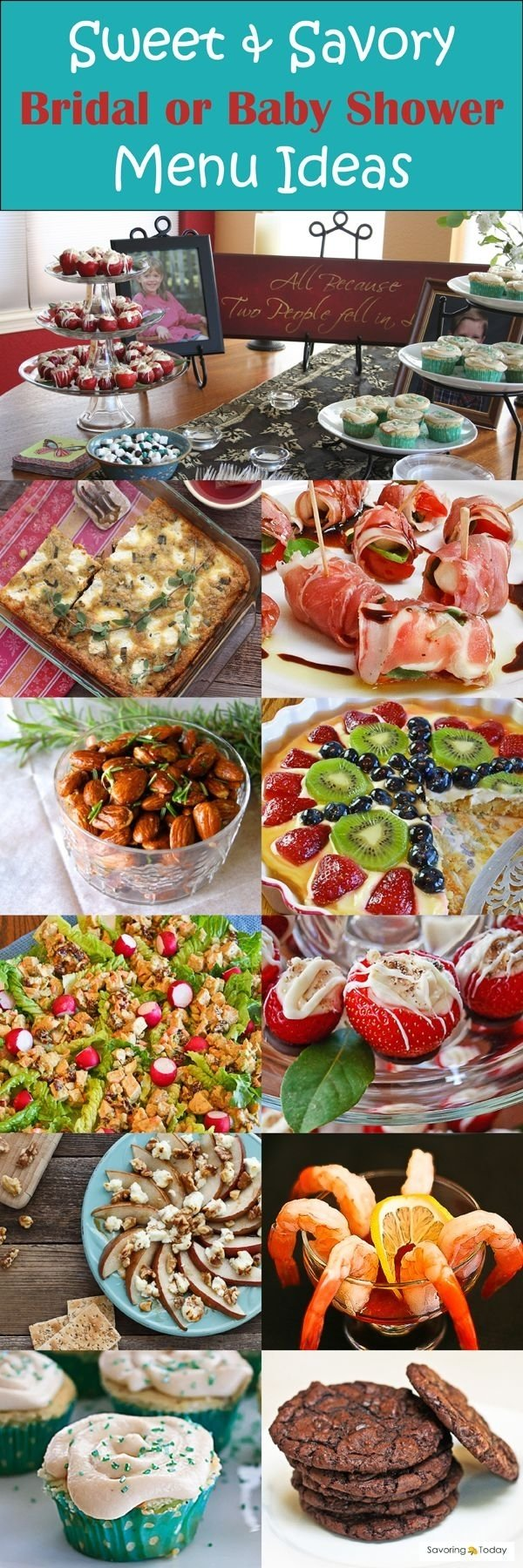 10 Gorgeous Baby Shower Food And Drink Ideas colors baby shower food drink ideas also baby shower food items in 2021
