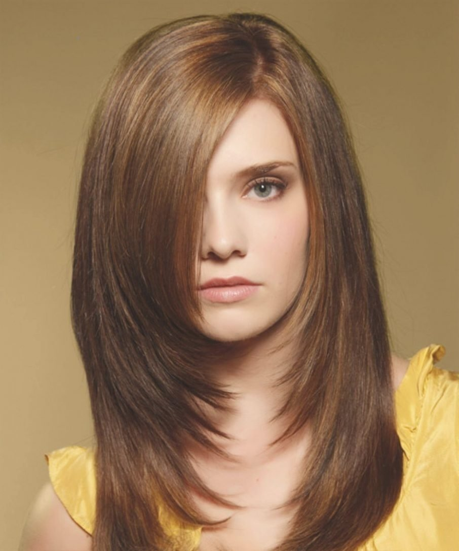 comely hairstyles for long hair round faces women hair libs