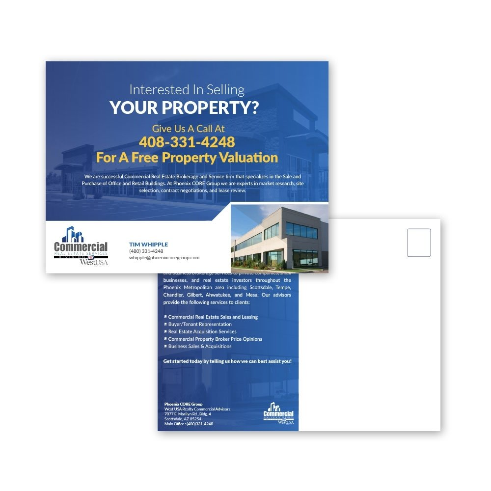 10 Famous Commercial Real Estate Marketing Ideas commercial real estate postcards ml jordan 1 2020