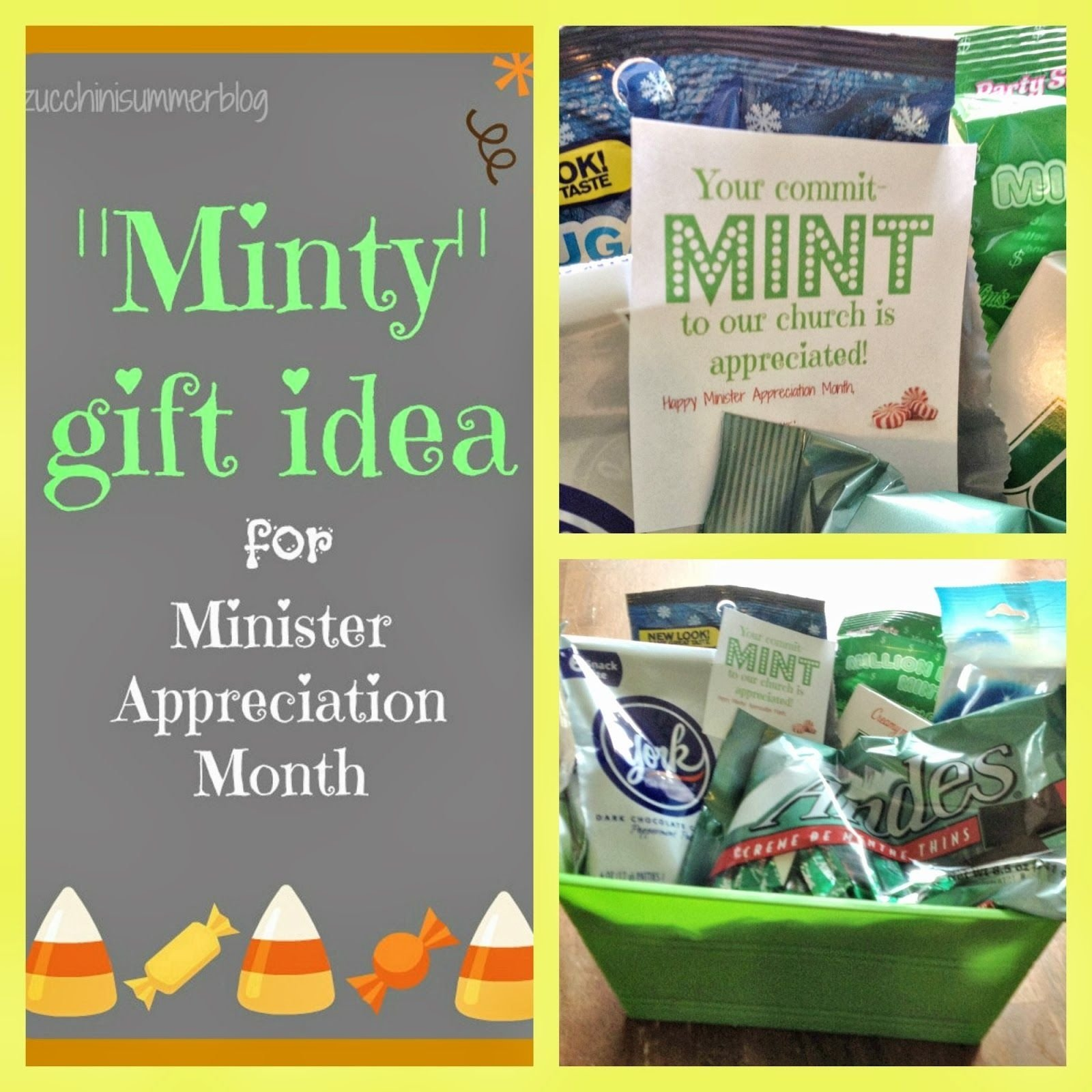 10 Stylish Ideas For Pastor Appreciation Month commit mint to church minister appreciation gift pastor 2020