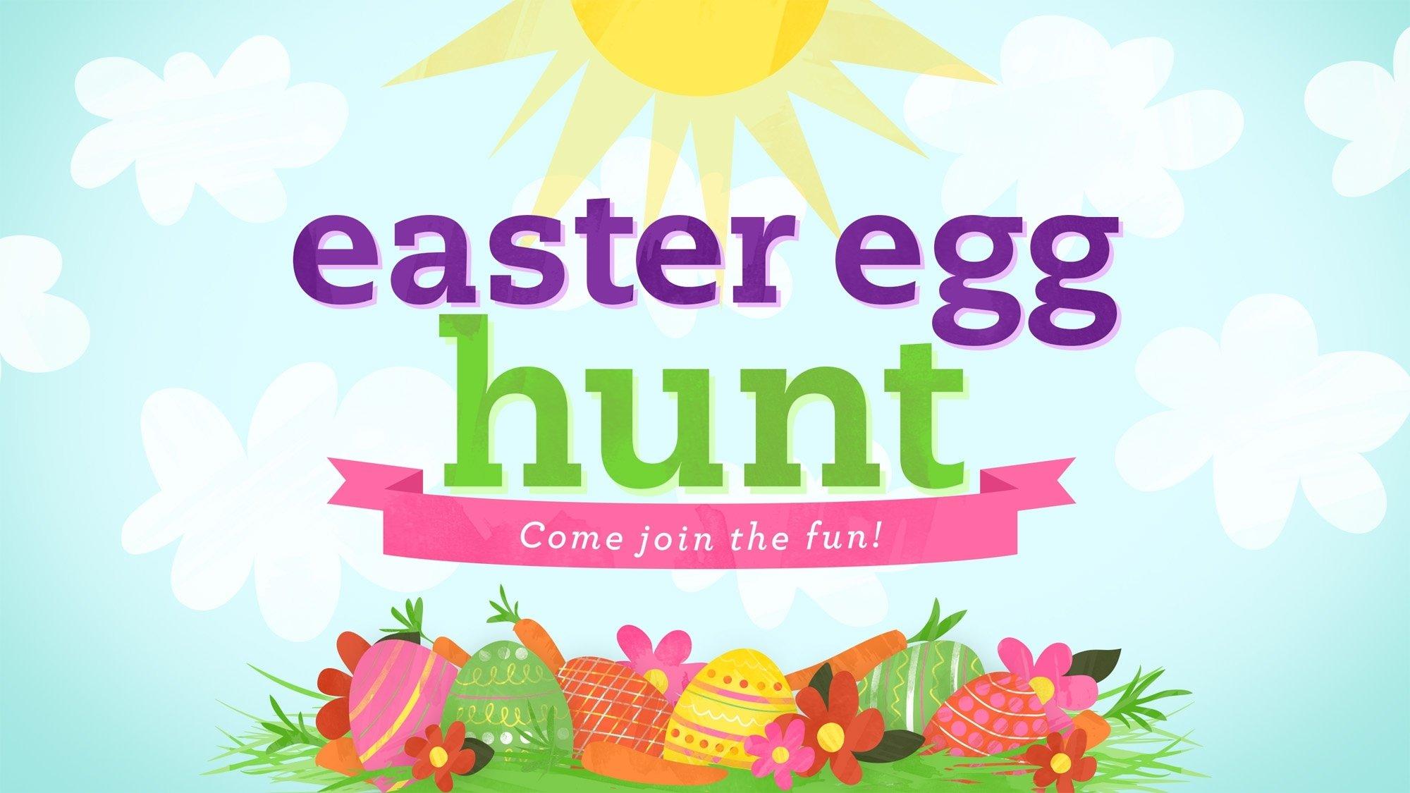 community easter egg hunt - alvaton church of christ