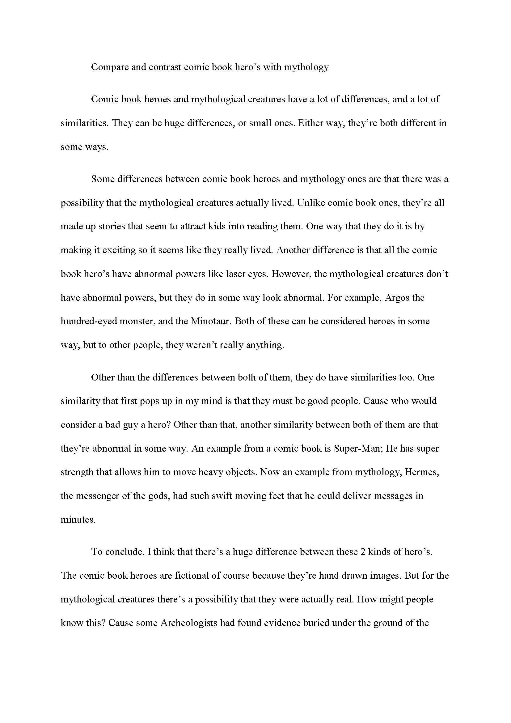 10 Unique Ideas For A Compare And Contrast Essay compare contrast essay outline example compare to examine two or 2021