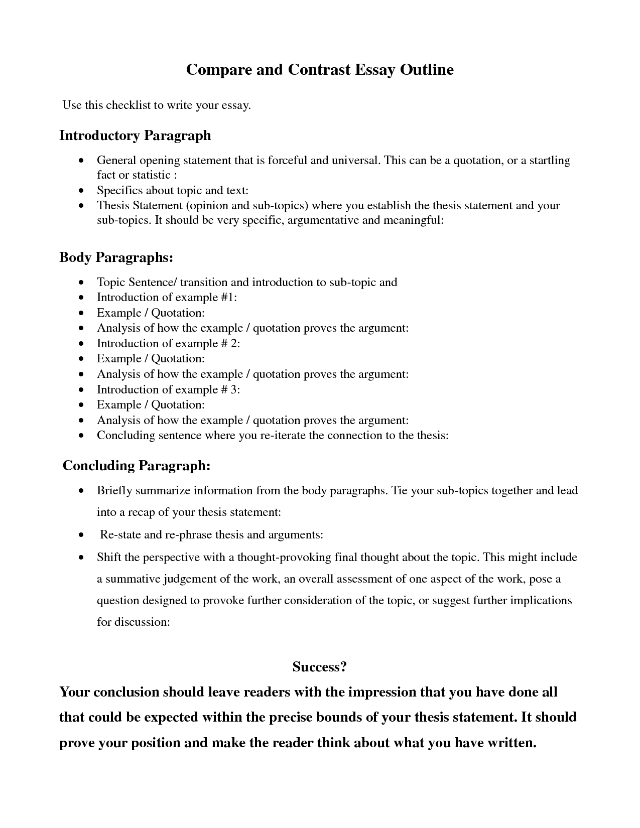 10 Best Ideas For Compare And Contrast Essay compare contrast essay outline google search education 1 2020
