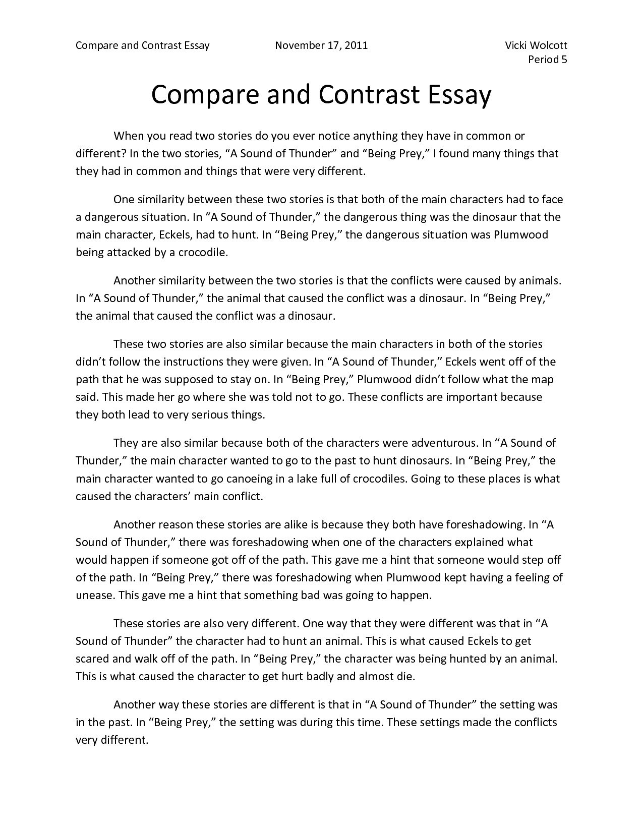 comparison essays topics - coles.thecolossus.co