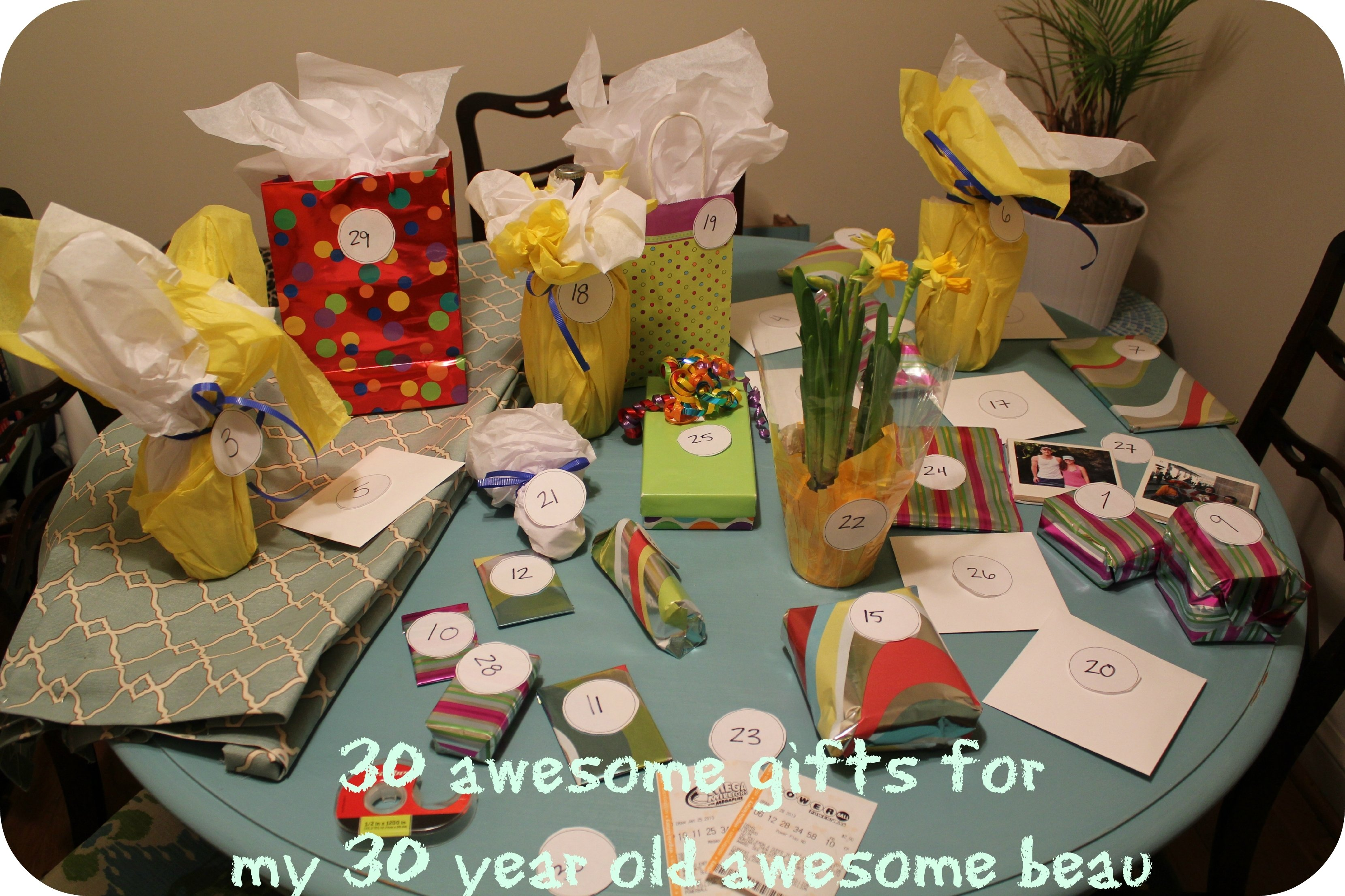 10 Amazing 30Th Birthday Ideas For Guys Compelling And Every Gift In People Will