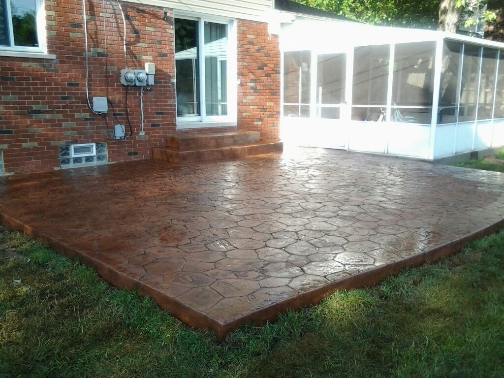 10 Best Concrete Patio Ideas For Small Backyards concrete patio ideas for small backyards amys office