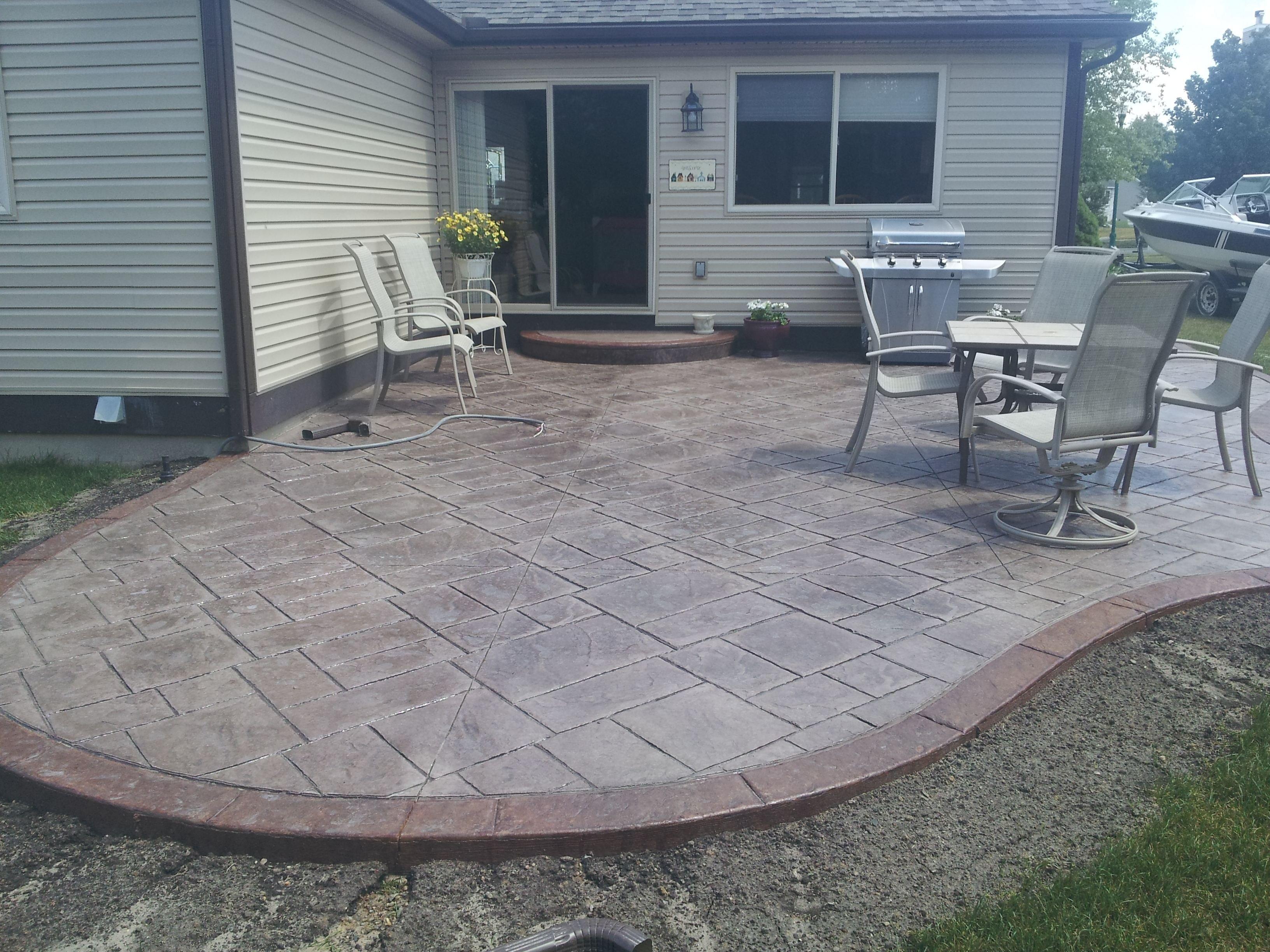 10 Best Concrete Patio Ideas For Small Backyards concrete patio ideas for small backyards stunning concrete slab