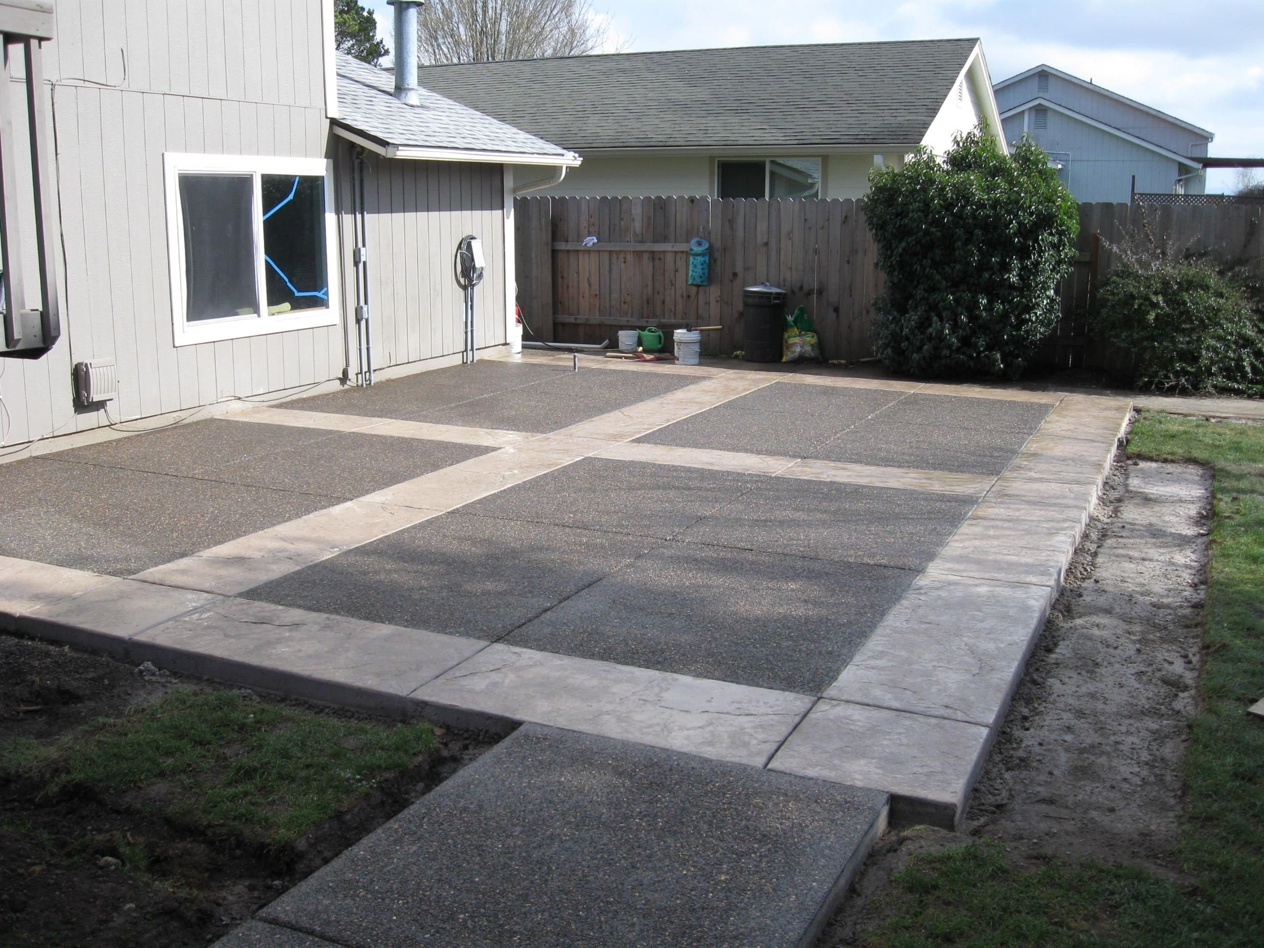10 Best Concrete Patio Ideas For Small Backyards concrete patio ideas for small backyards stunning easy cement