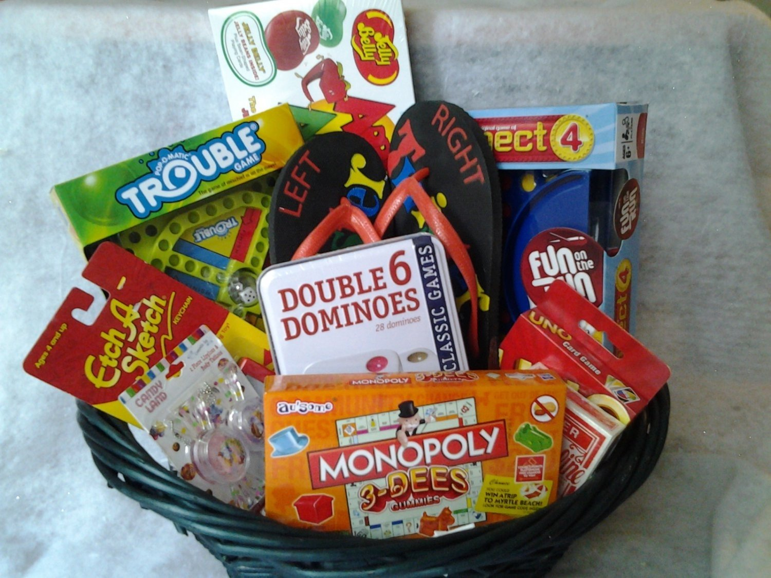 10 Stunning Family Night Gift Basket Ideas connies creations game night gift basket online store powered 2 2021