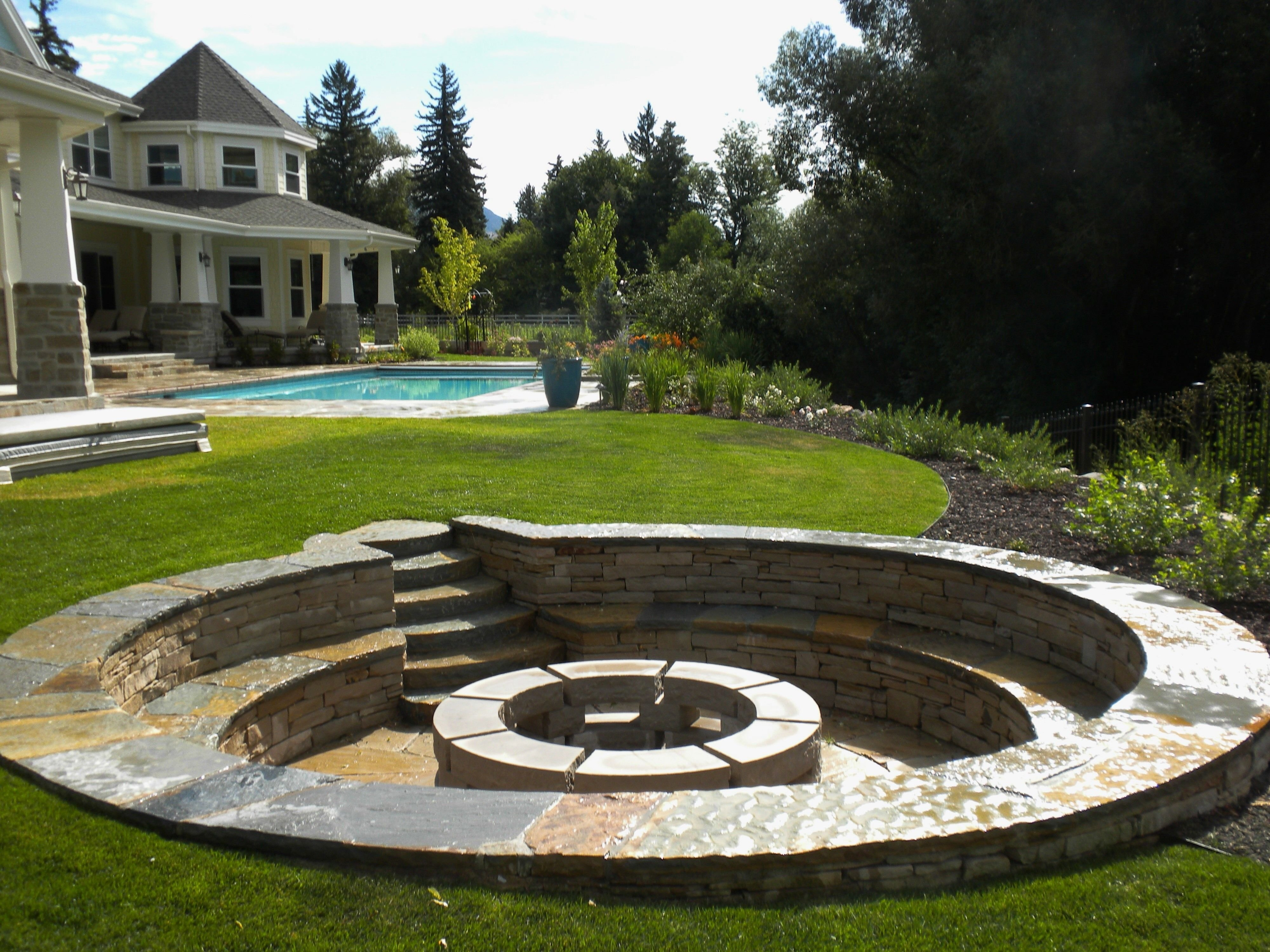 10 Fantastic In Ground Fire Pit Ideas considering backyard fire pit heres what you should know 2021