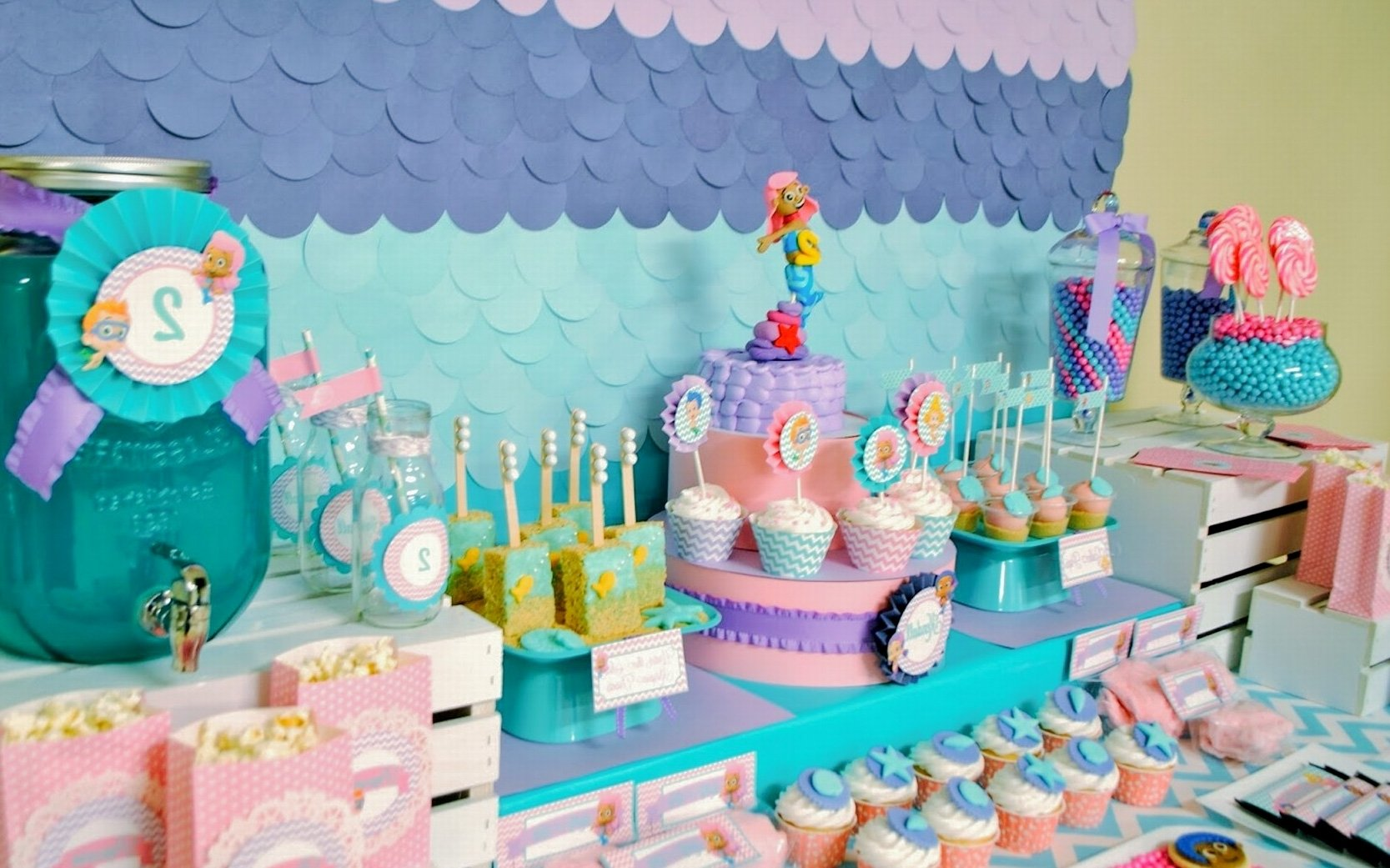 10 Fashionable Bubble Guppie Birthday Party Ideas considering trendy bubble guppies birthday party ideas home decor 2