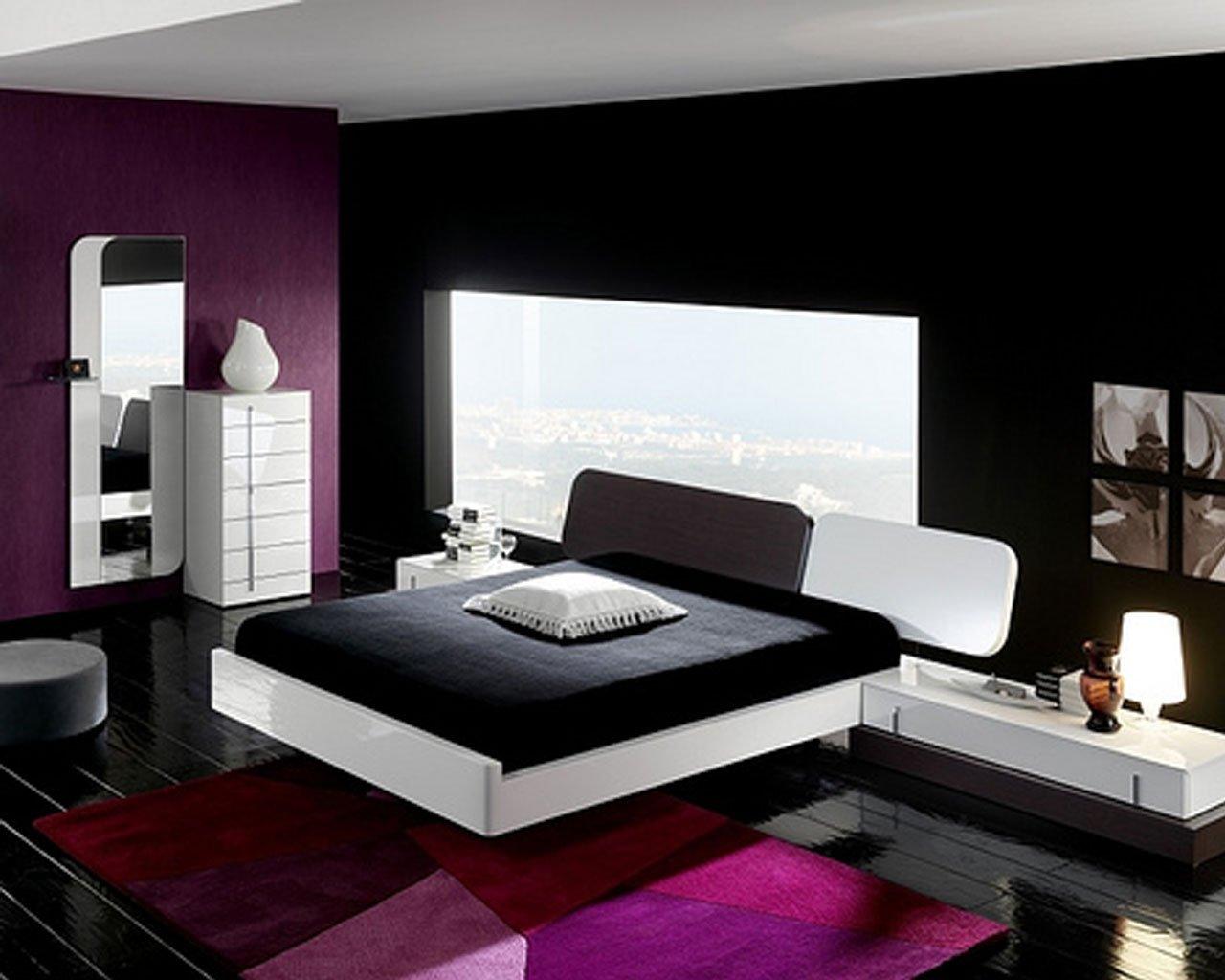 wonderful orange black bedroom ideas | 10 Wonderful Black And White Bedroom Ideas 2019