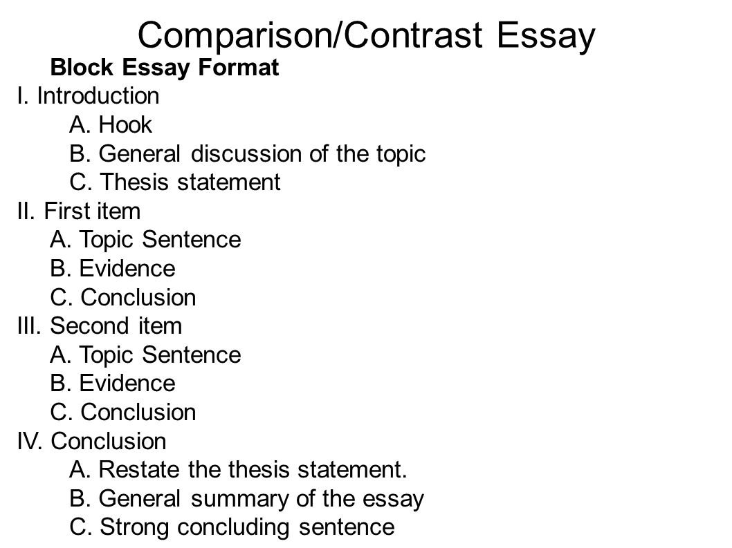 10 Best Ideas For Compare And Contrast Essay contrast essay topics compare and contrast essay format compare and 2020