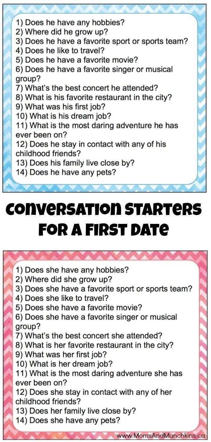 10 Unique Good Ideas For First Dates conversation starters for a first date starters conversation and 1 2020