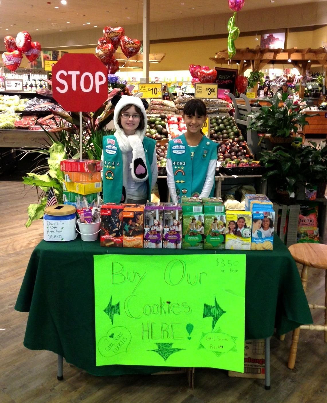 10 Unique Girl Scout Cookie Booth Ideas cookie booth idea girl scouts pinterest booth ideas and gs cookies