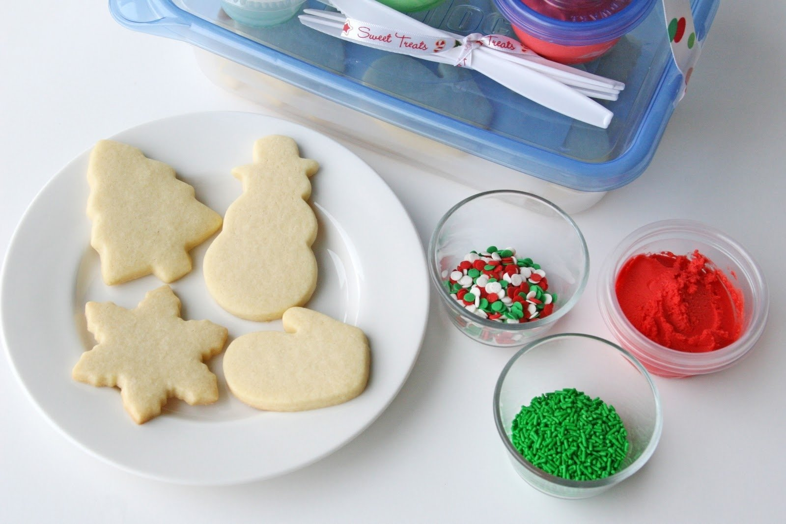 10 Perfect Christmas Cookie Ideas For Kids cookie decorating kits for kids and easy butter frosting recipe 2021