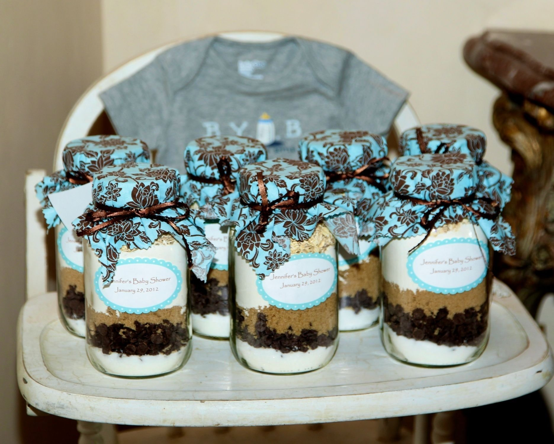 10 Most Popular Mason Jar Party Favor Ideas cookie recipe in a mason jar party favors my baby shower