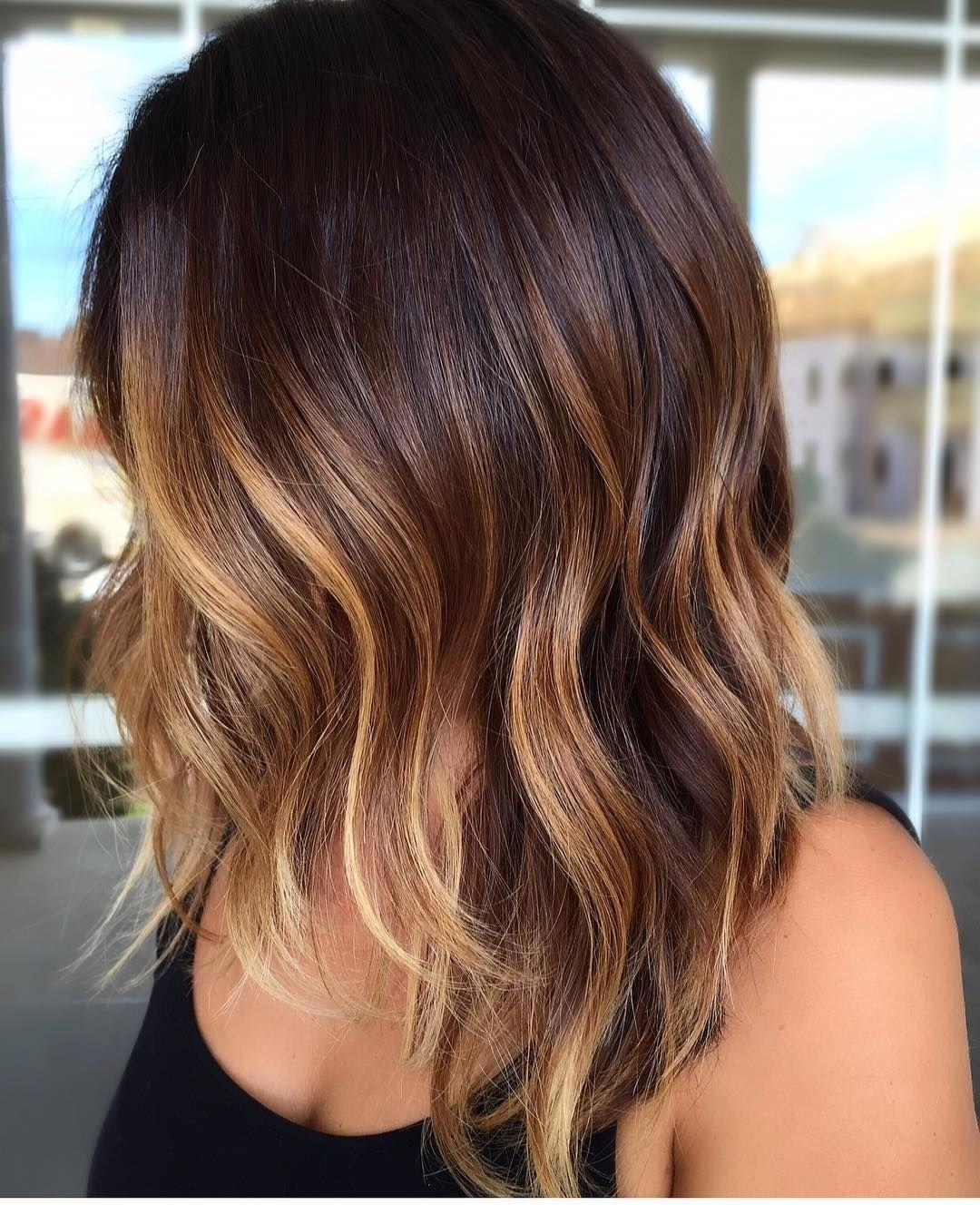 10 Beautiful Highlights Ideas For Brown Hair cool 65 phenomenal dark hair with highlights flattering streaks 1 2021
