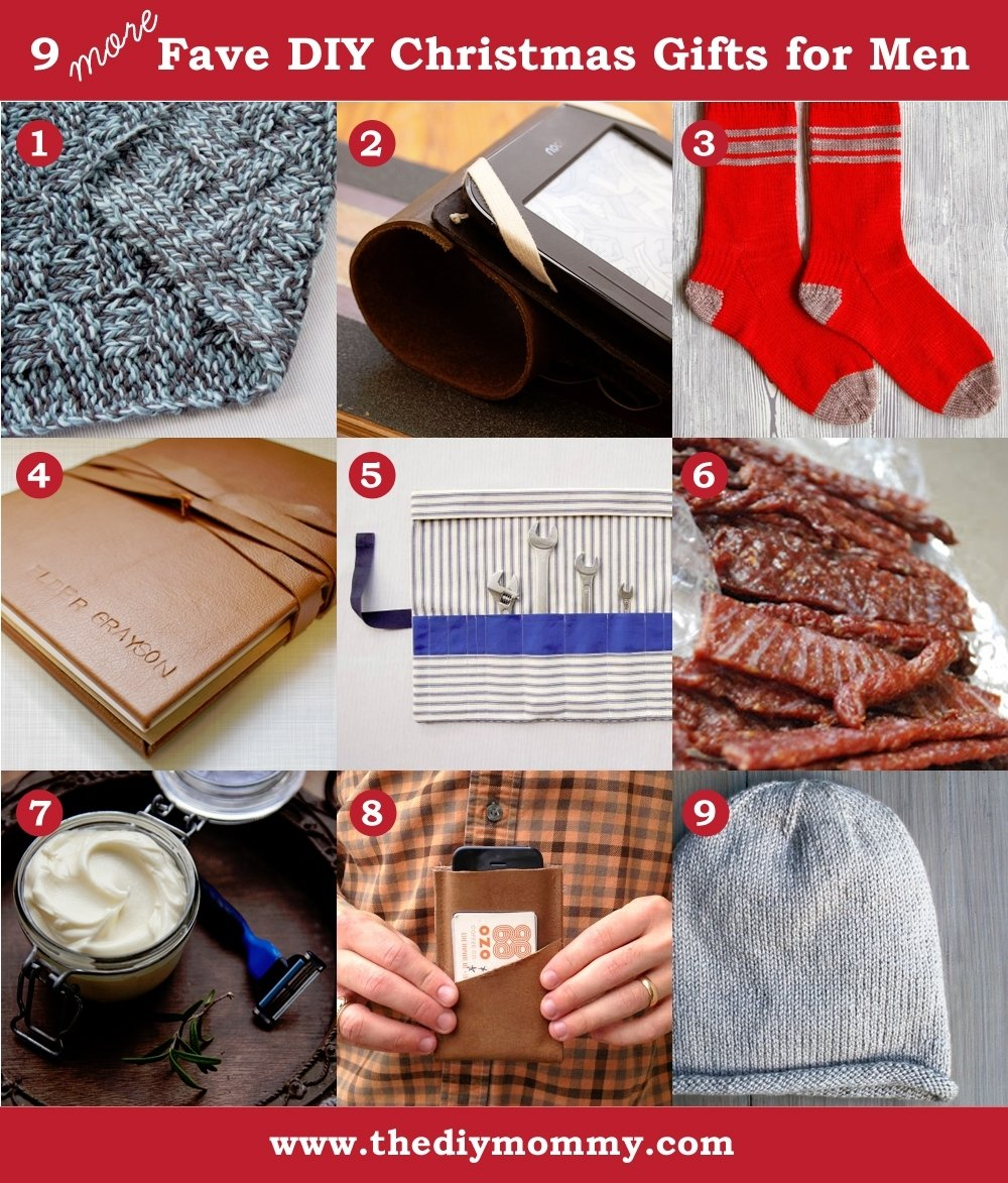 10 Perfect Homemade Christmas Gift Ideas For Men cool affordable gift ideas for for family to clever photos in diy 2021