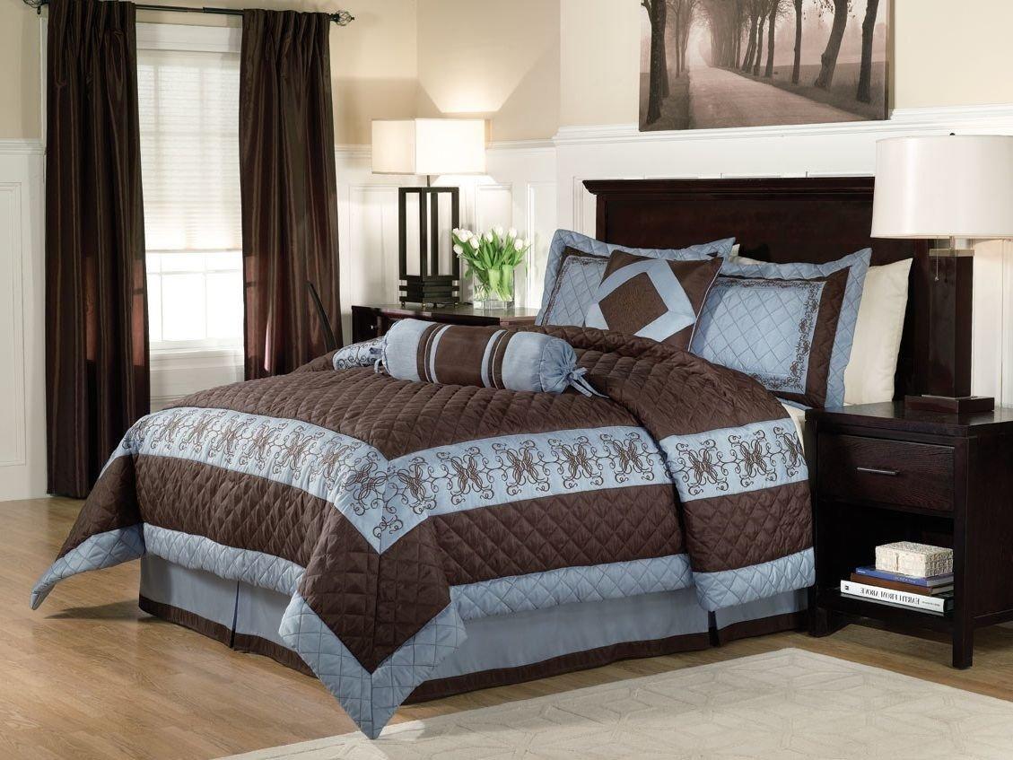 10 Elegant Blue And Brown Bedroom Ideas cool blue and brown bedroom ideas hd9e16 tjihome 2020