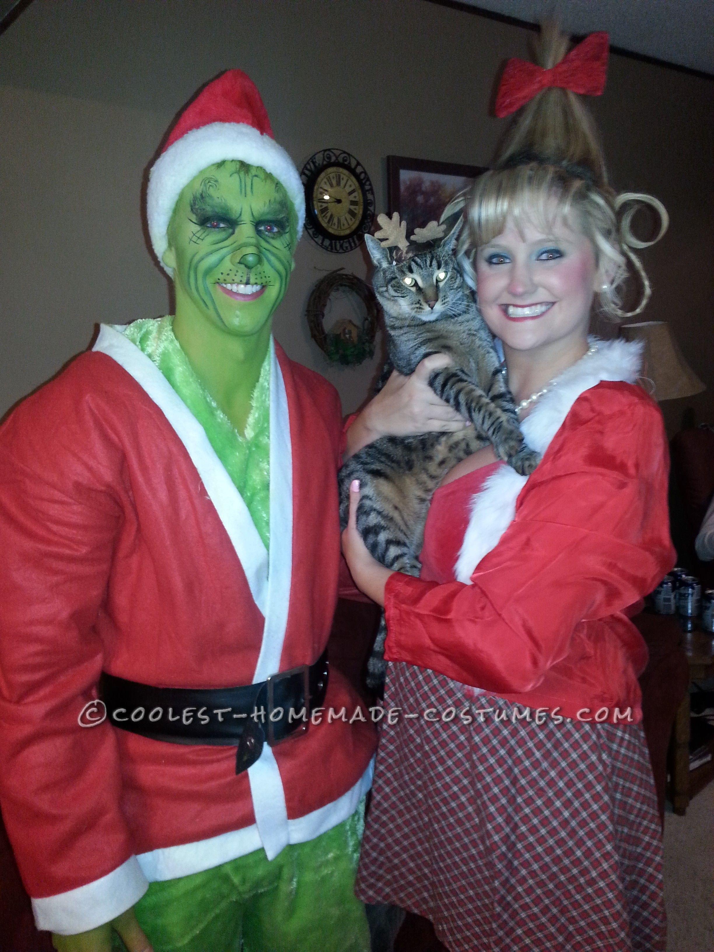 10 Pretty Good Couples Halloween Costume Ideas cool couples halloween costume grinch and cindy lou who 2020