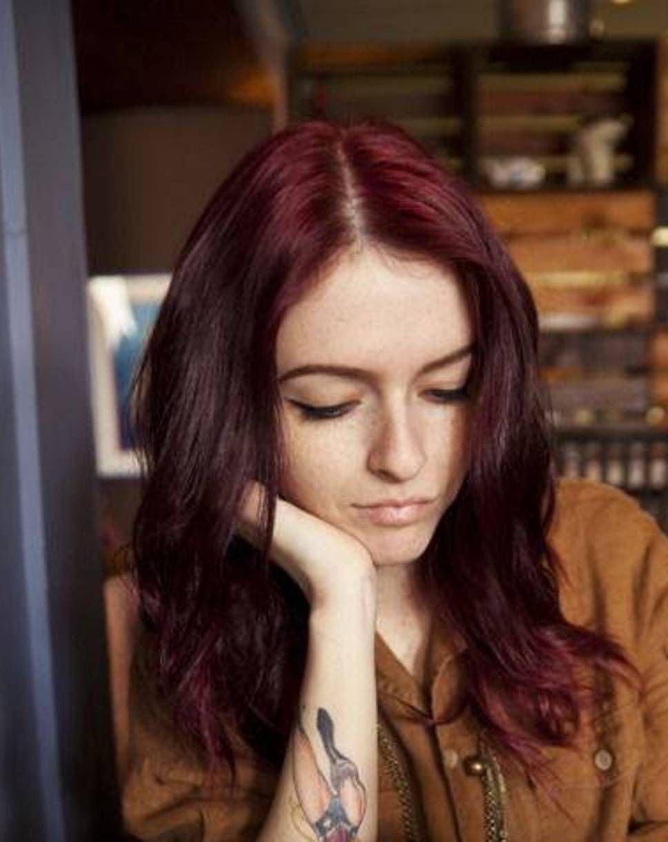 10 Spectacular Cute Dark Hair Color Ideas cool dark auburn hair color cute dark aubrun hair 2020