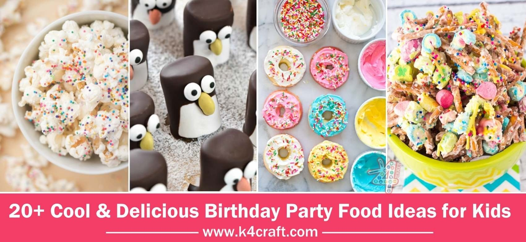 10 Wonderful Bake Sale Ideas For Kids cool delicious birthday party food ideas for kids k4 craft 1 2020
