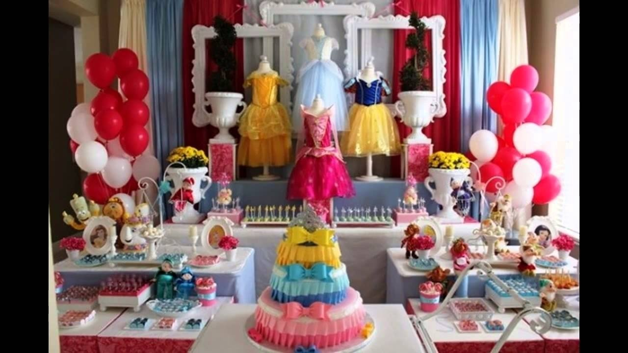 10 Fabulous Themed Birthday Party Ideas For Adults cool disney princess themed party ideas youtube 3
