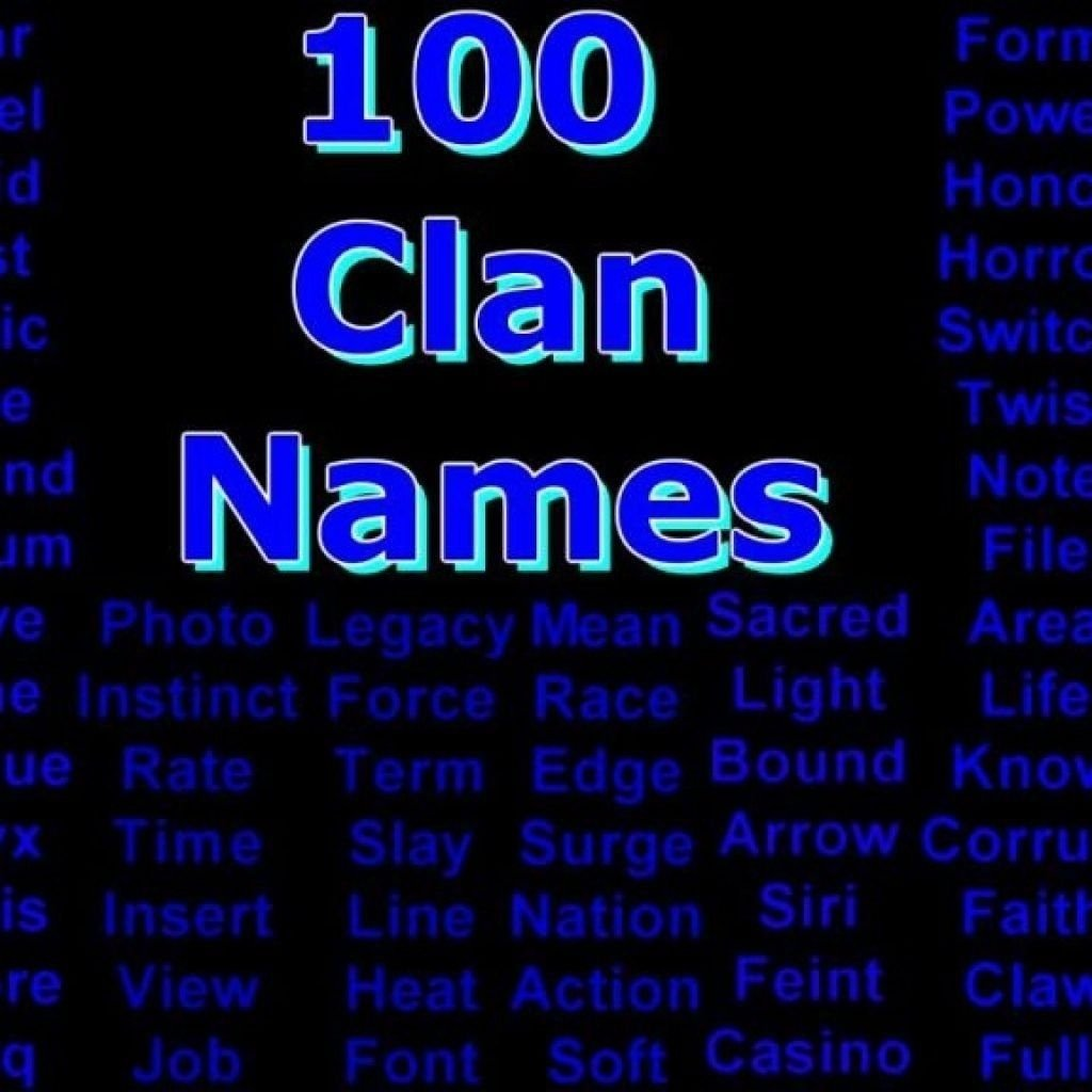10 Wonderful Call Of Duty Clan Name Ideas cool four letter words sample letters formats 2020