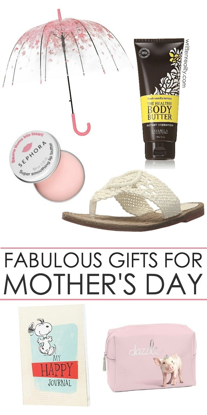cool gift ideas for mom - written reality