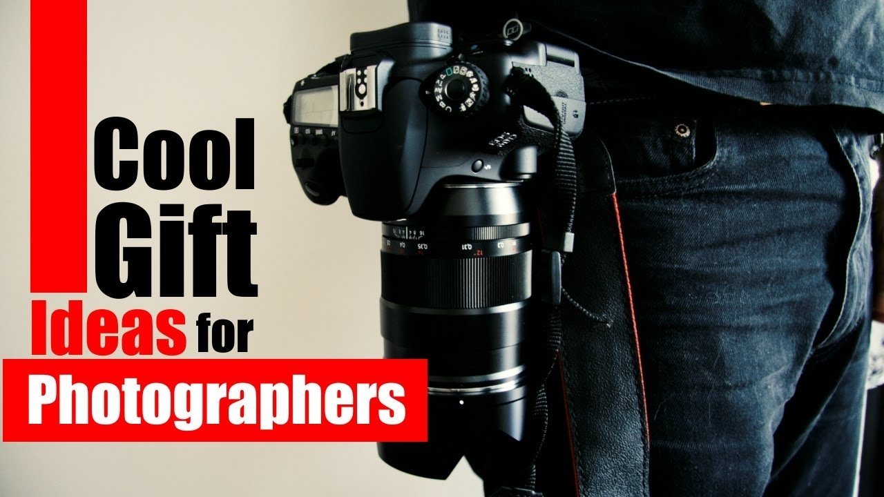 cool gift ideas for photographers - youtube