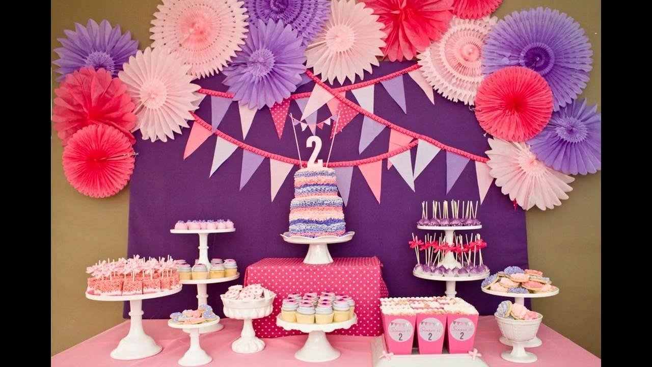 10 Gorgeous 2Nd Birthday Party Ideas For Girls Cool Decorations Youtube
