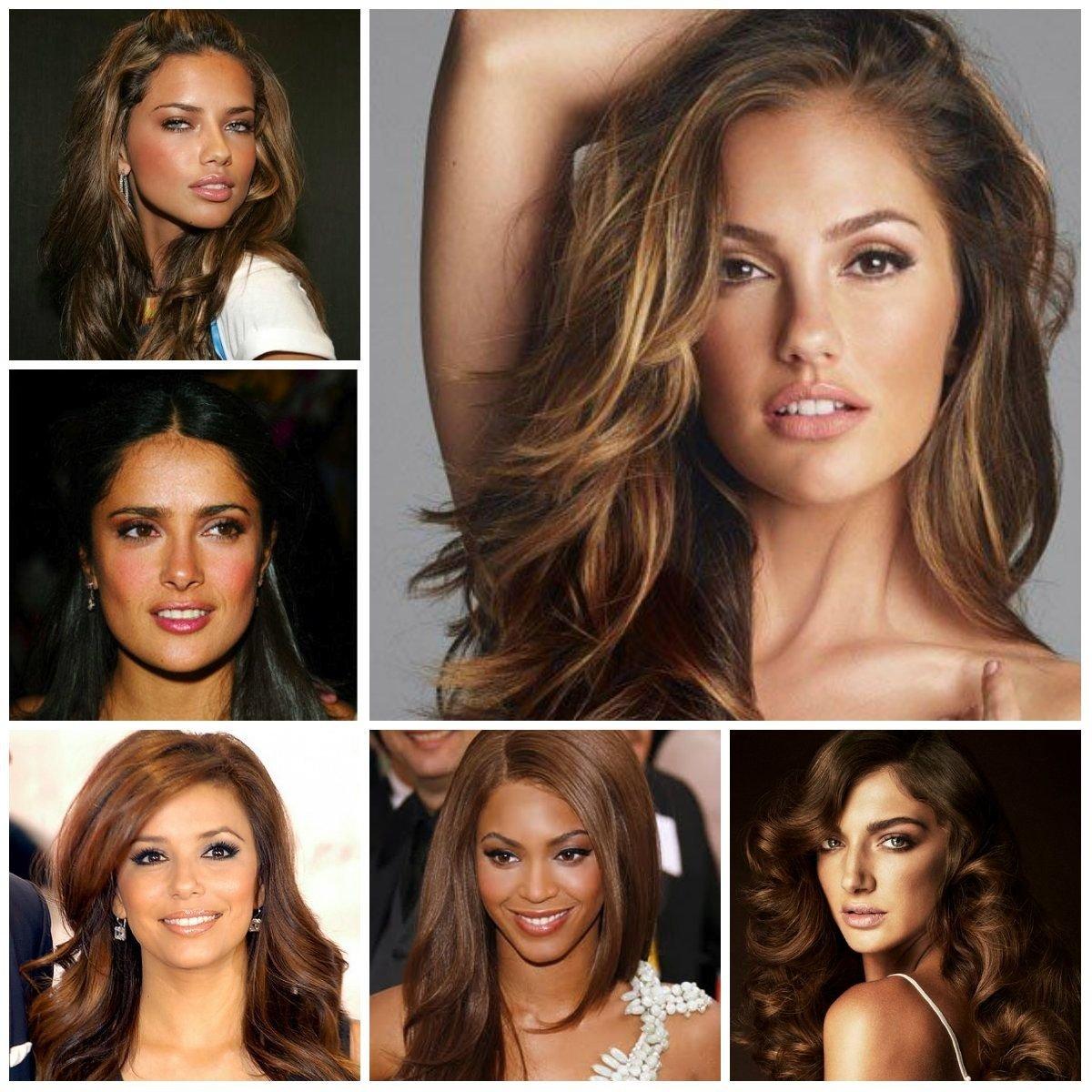 10 Nice Hair Color Ideas For Olive Skin cool hair colors for tan skin favorite hair pinterest hair 2021