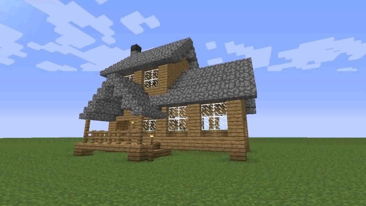 10 Wonderful Cool House Ideas For Minecraft cool house designs minecraft easy youtube 2020