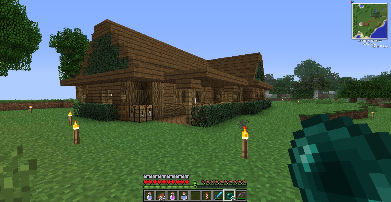 10 Wonderful Cool House Ideas For Minecraft cool house idea screenshots show your creation minecraft 2020