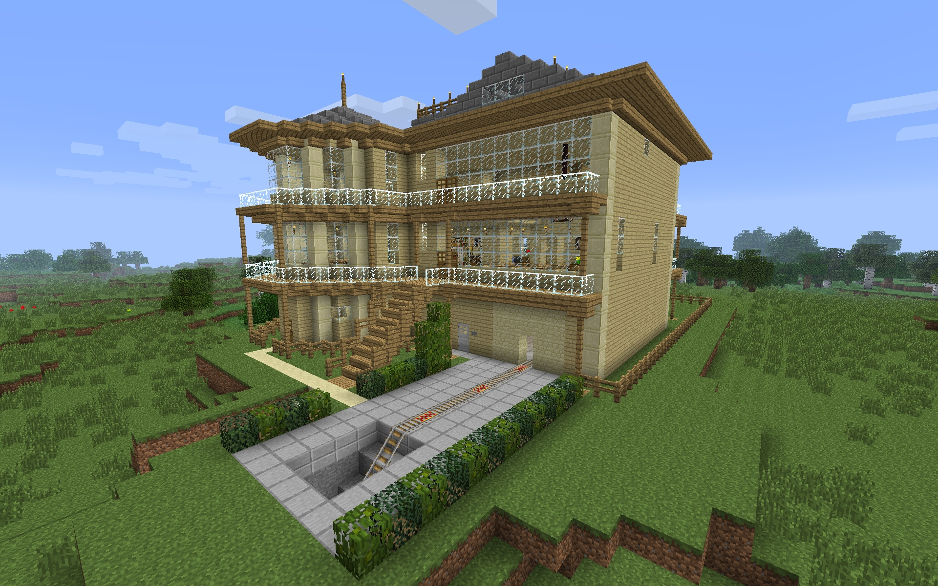 10 Wonderful Cool House Ideas For Minecraft cool house ideas modern building minecraft seeds for pc xbox 2020