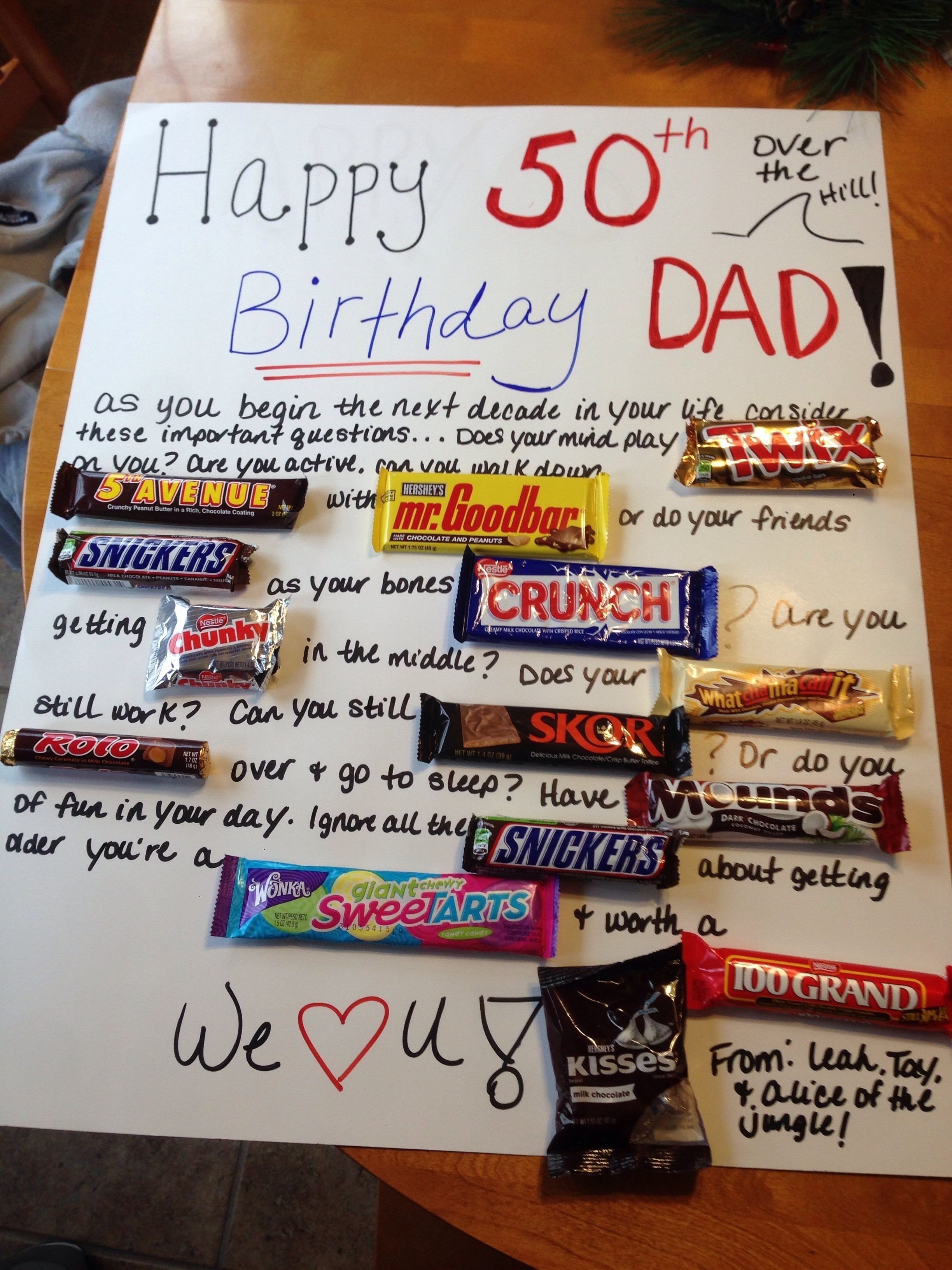 10 Lovely Funny 50Th Birthday Gift Ideas Cool For 50th Gifts Best Cake