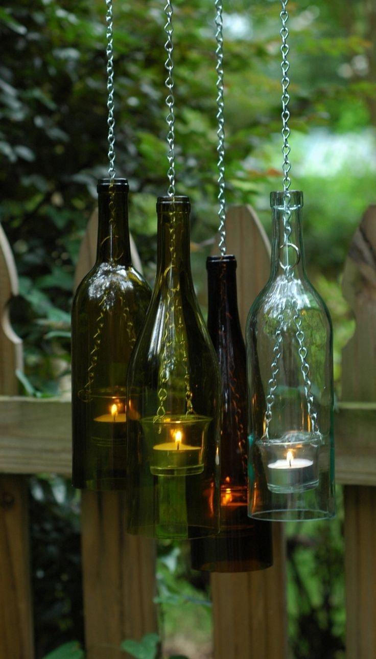 cool ideas for old wine bottles - highlands self storage