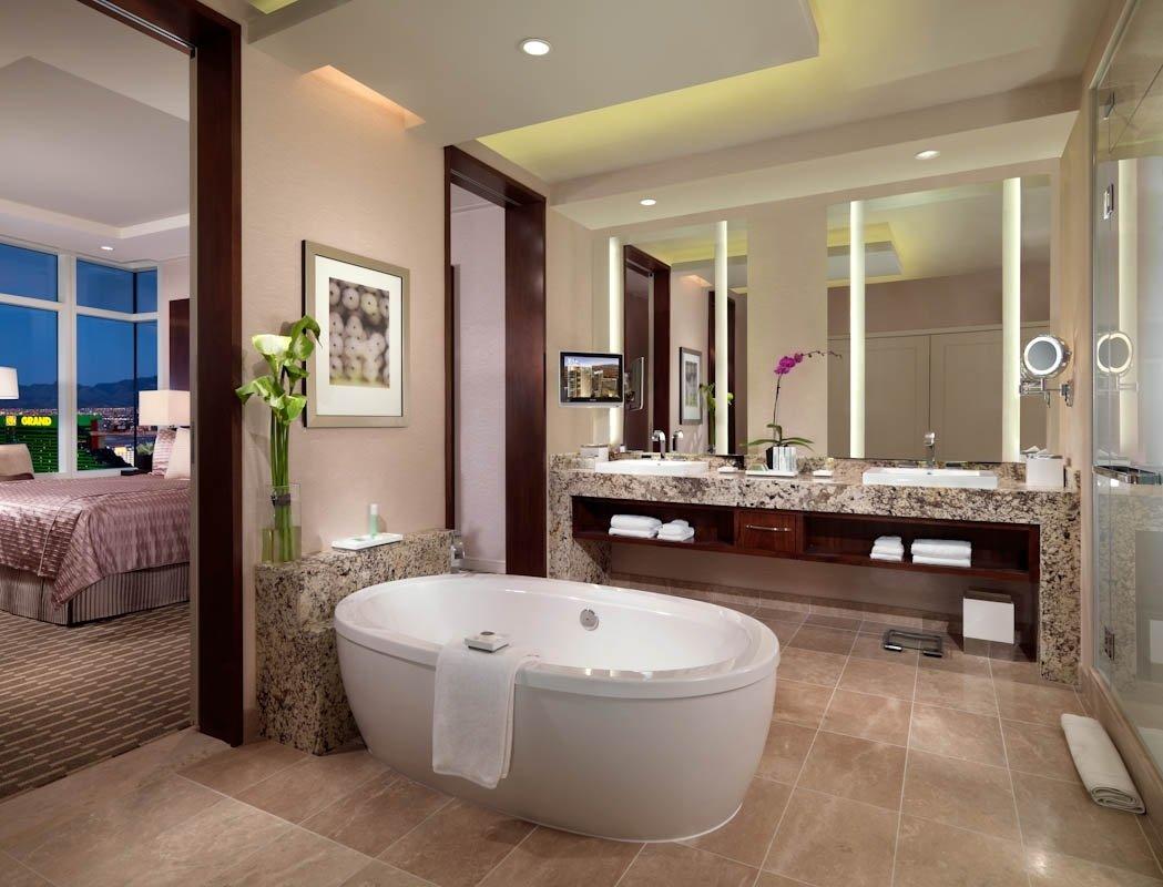 10 Stylish Master Bedroom And Bathroom Ideas cool luxury bathroom master bedroom decosee 2021