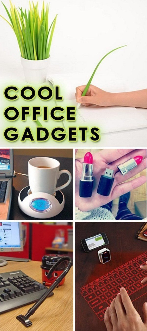 cool office gadgets - lots of cool gift ideas! … | pinteres…