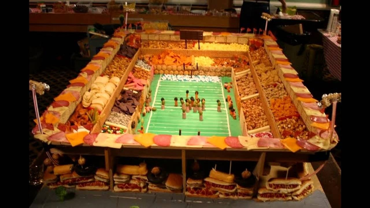 10 Pretty Super Bowl Party Snack Ideas cool super bowl party decorations youtube 2