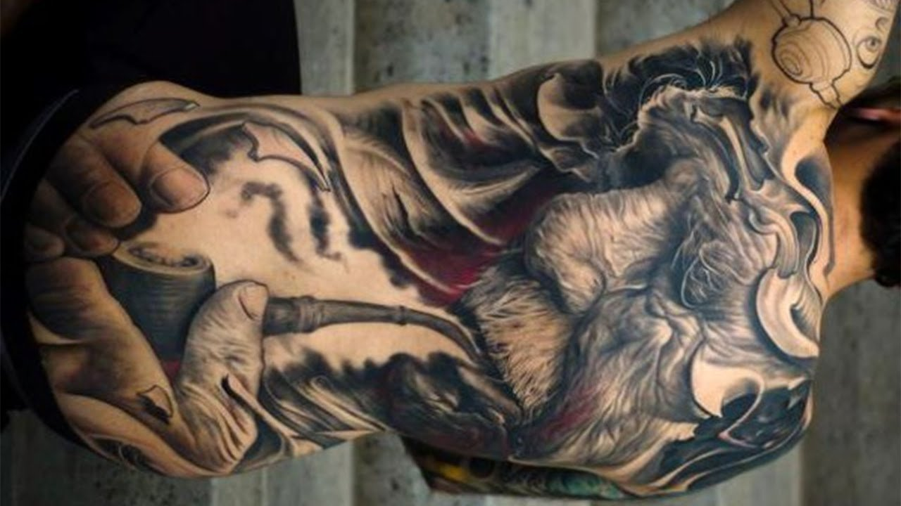 cool tattoo ideas for men - insane tattoo products - youtube