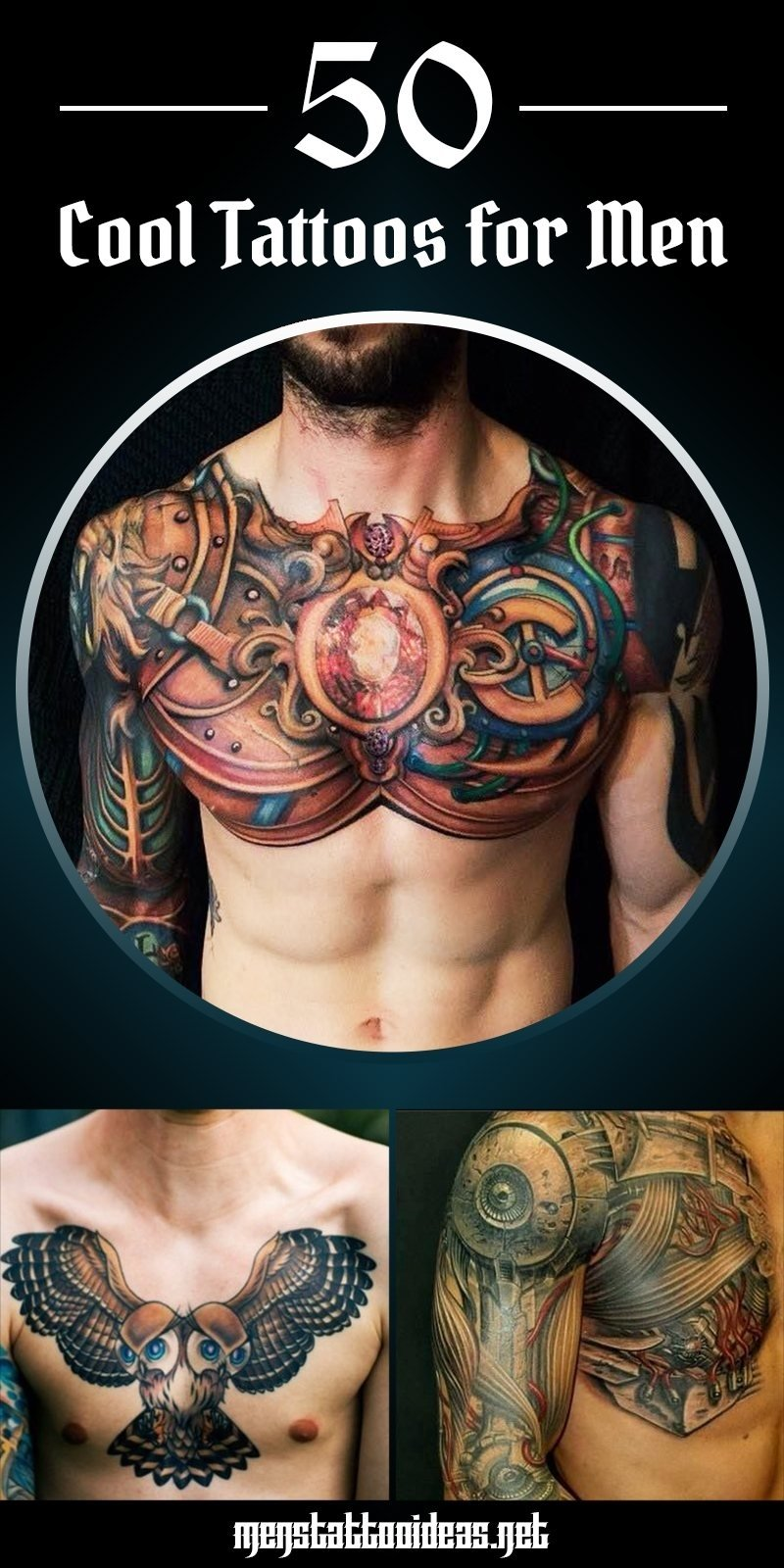 10 Best Awesome Tattoo Ideas For Guys cool tattoos for men best tattoo ideas and designs for guys 1