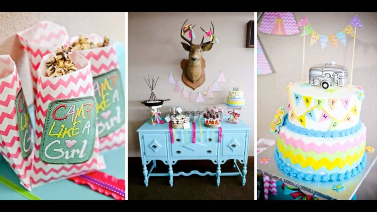 10 Fantastic Birthday Party Ideas For Tween Girls Cool Teenage Themes Decorating Youtube