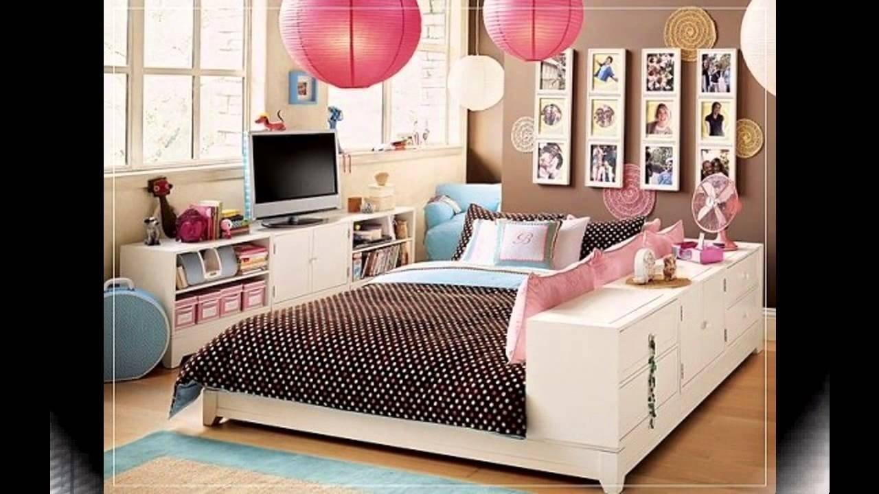 cool teenage girl bedroom ideas for small rooms - youtube